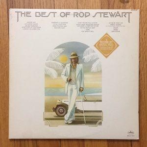 Best of Rod Stewart Vinyl Record 2LP
